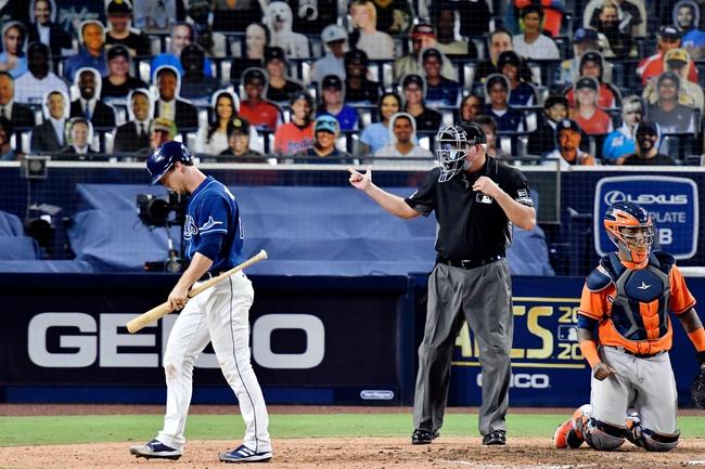 MLB Picks: Tampa Bay Rays vs Houston Astros Odds, Predictions 10/17/20