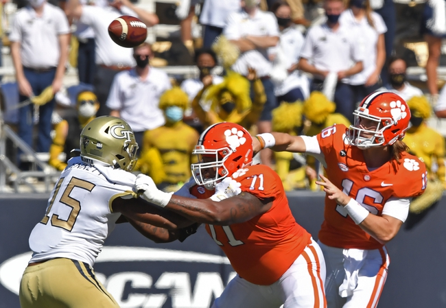 Syracuse at Clemson - 10/24/20 College Football Picks and Prediction