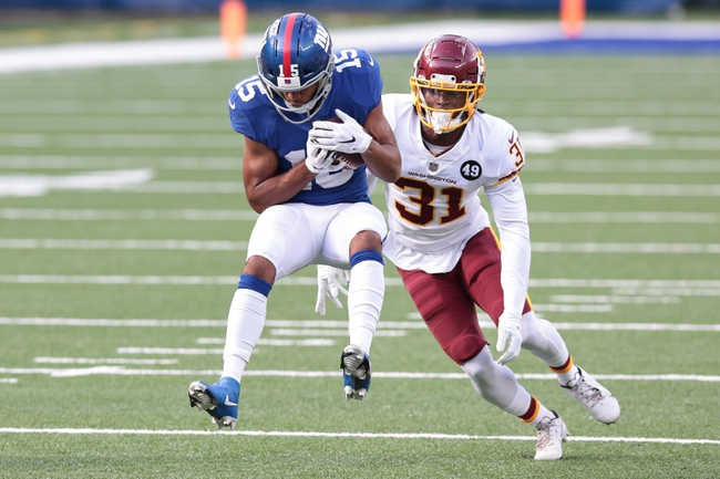 New York Giants at Washington Football Team - 11/8/20 NFL Picks and Predictions