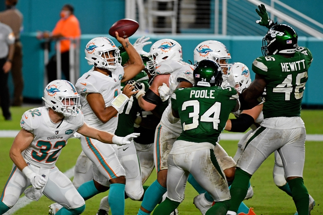 AFC East Picks: New York Jets vs Miami Dolphins 11/29/20 NFL Picks, Odds, Predictions