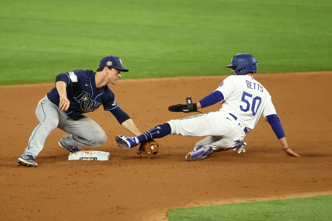 Los Angeles Dodgers vs Tampa Bay Rays MLB World Series Picks, Odds, Predictions 10/21/20