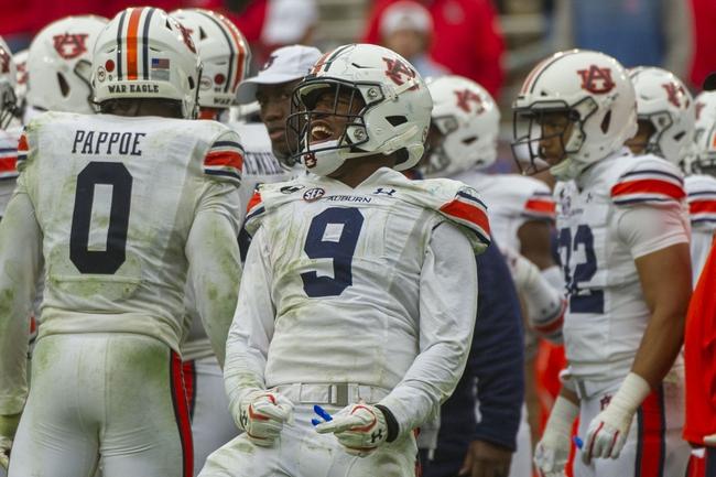 LSU at Auburn 10/31/20 College Football Picks and Prediction