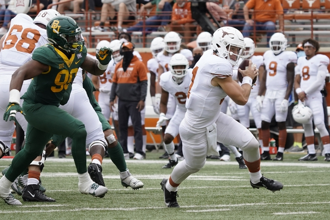 Texas at Oklahoma State 10/31/20 College Football Picks and Prediction