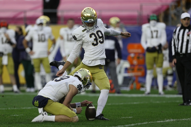 Notre Dame at Georgia Tech 10/31/20 College Football Picks and Predictions