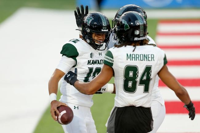 Hawaii at Wyoming 10/30/20 College Football Picks and Prediction