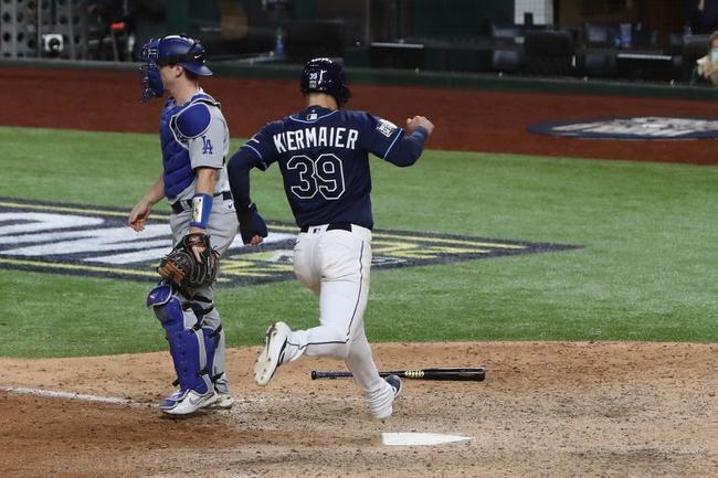 MLB Picks: Tampa Bay Rays vs Los Angeles Dodgers Odds, Predictions 10/25/20