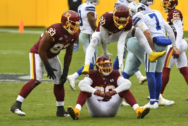 Washington Football Team at Dallas Cowboys 11/26/20 NFL Picks and Predictions