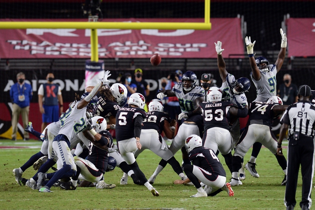 TNF: Seattle Seahawks vs Arizona Cardinals 11/19/20 NFL Picks, Odds, Predictions