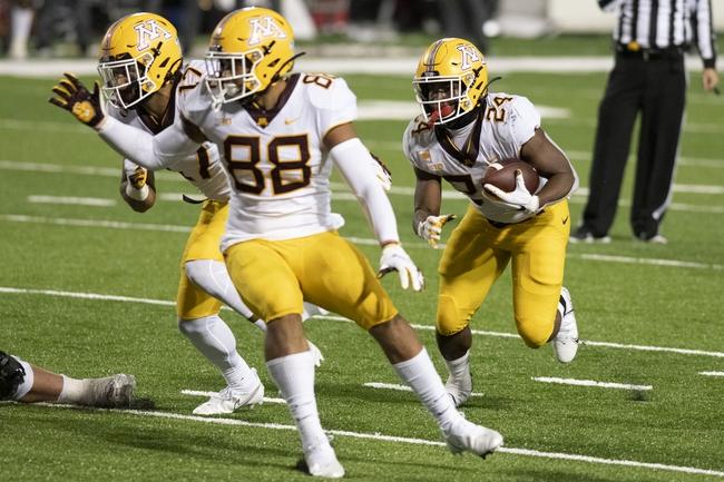 Minnesota at Illinois - 11/7/20 College Football Picks and Predictions
