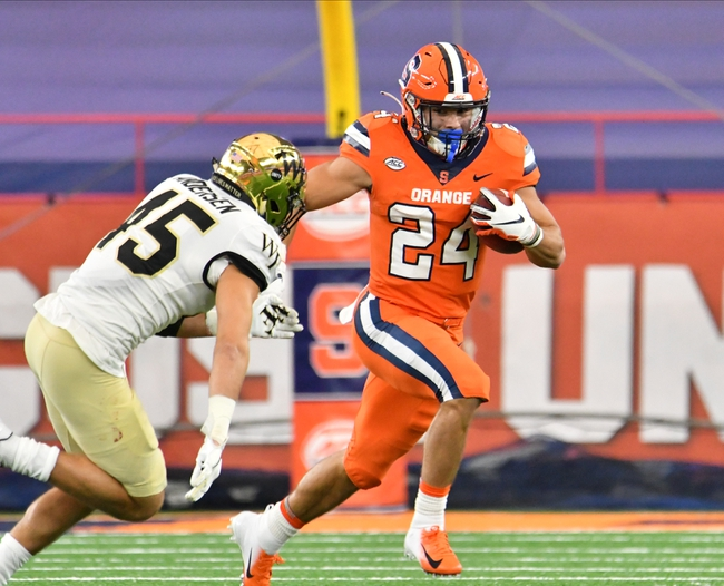 Boston College at Syracuse - 11/7/20 College Football Picks and Predictions