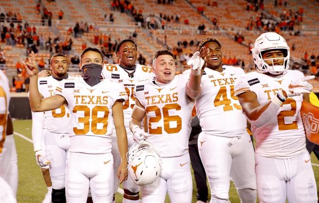 Cancelled: Texas at Kansas 11/21/20 College Football Picks and Predictions