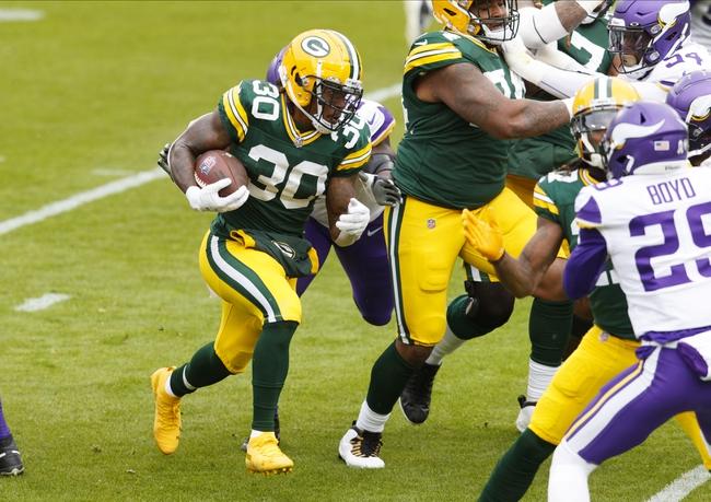 Jacksonville Jaguars at Green Bay Packers 11/15/20 NFL Picks and Predictions