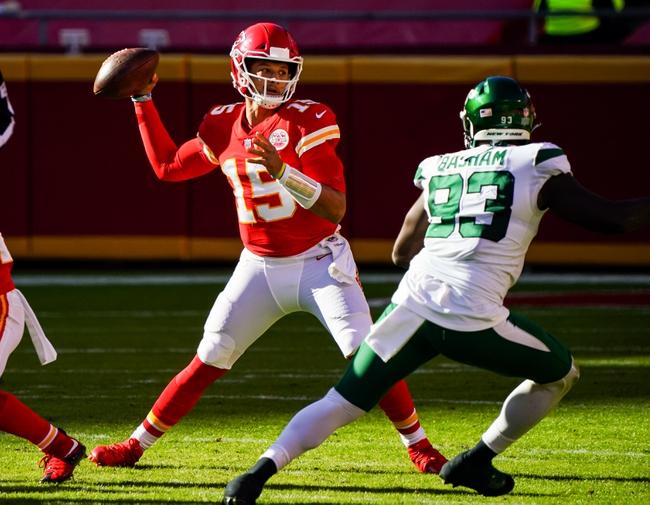 Prediction: Kansas City Chiefs vs Carolina Panthers 11/8/20 NFL Picks, Odds