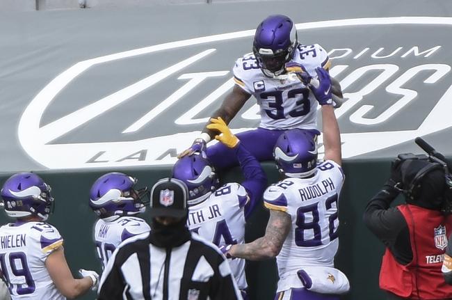 Detroit Lions at Minnesota Vikings 11/8/20 NFL Picks and Predictions