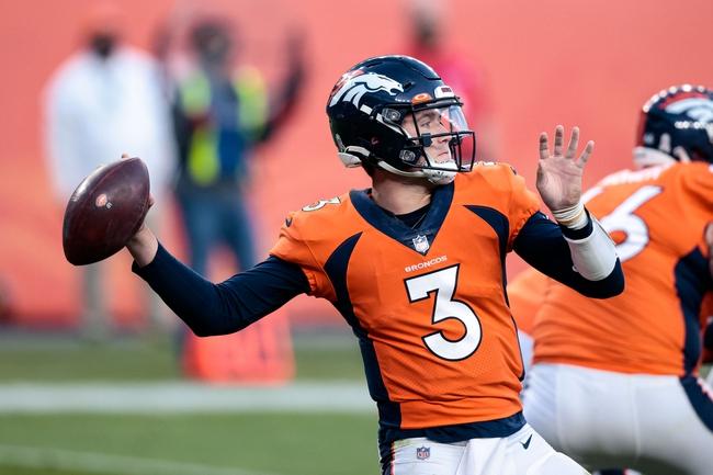 Denver Broncos at Atlanta Falcons - 11/8/20 NFL Picks and Prediction