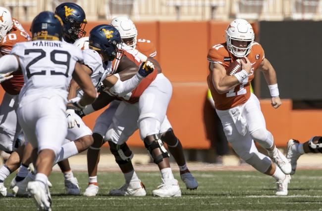 POSTPONED: Kansas vs Texas College Football Picks, Odds, Predictions 11/21/20