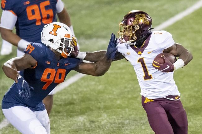 Iowa at Minnesota 11/13/20 College Football Picks and Predictions
