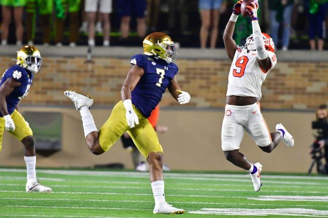 ACC Championship: Notre Dame vs Clemson 12/19/20 College Football Picks, Odds, Predictions
