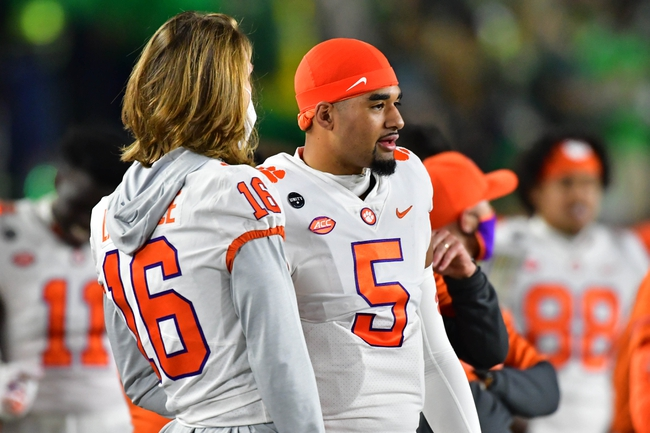 Pittsburgh at Clemson 11/28/20 College Football Picks and Predictions