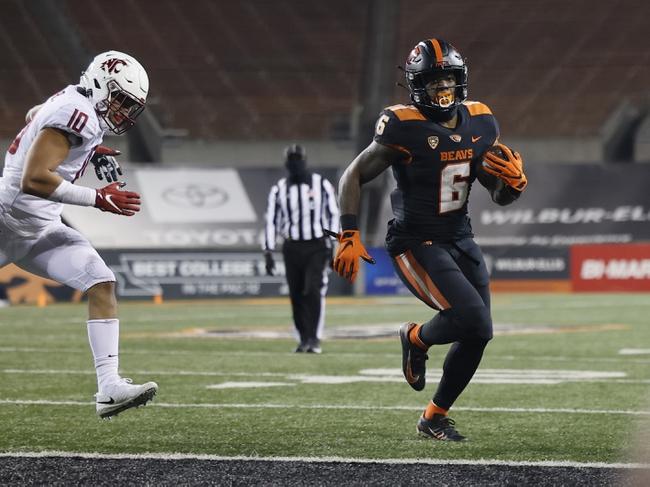 Oregon State Beavers at Washington Huskies - 11/14/20 College Football Picks and Prediction