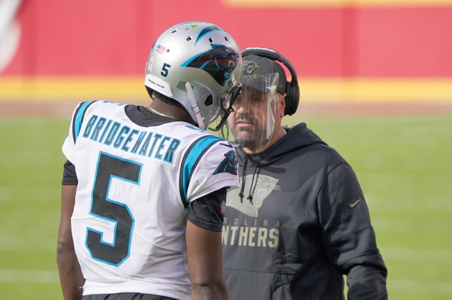 Detroit Lions at Carolina Panthers 11/22/20 NFL Picks and Prediction
