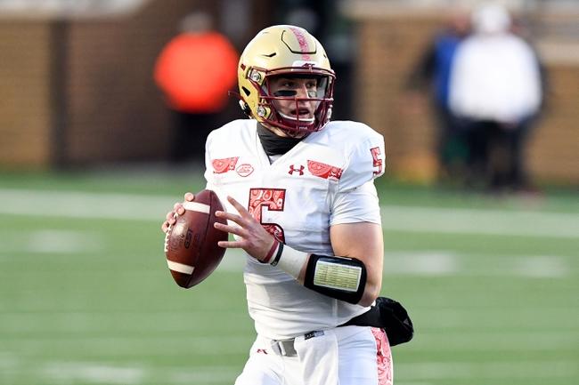 Louisville at Boston College: 11/28/20 College Football Picks and Prediction
