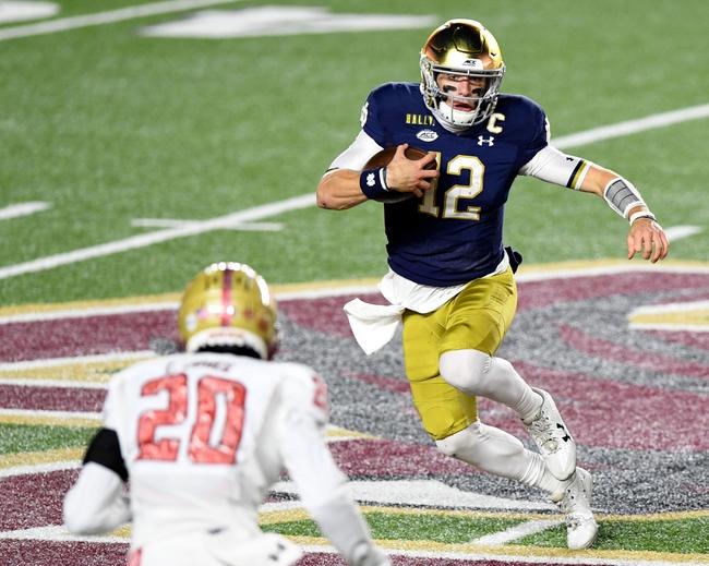 Notre Dame at North Carolina 11/27/20 College Football Picks and Predictions