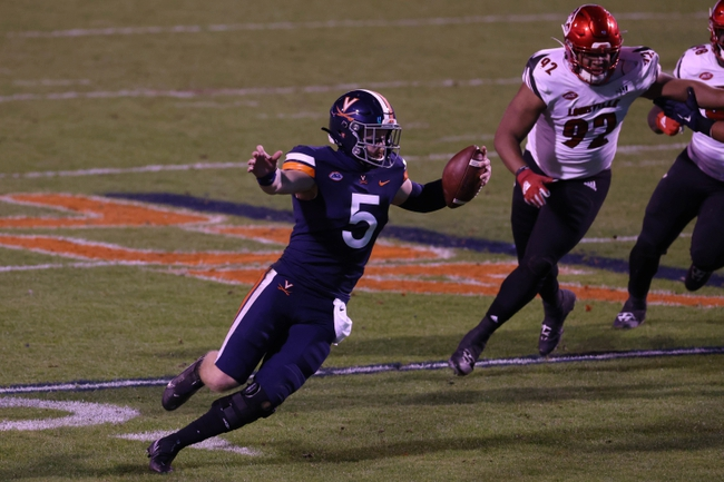Abilene Christian at Virginia 11/21/20 College Football Picks and Predictions