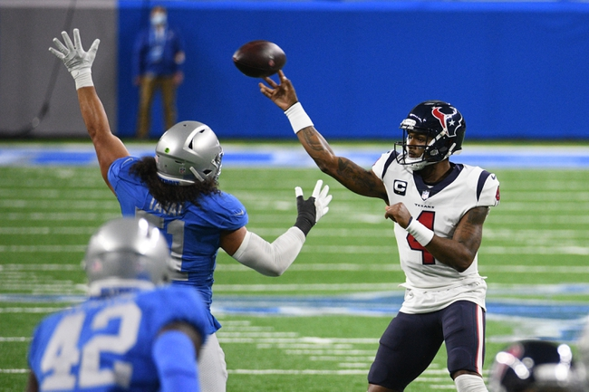 NFL AFC South Picks: Houston Texans vs Indianapolis Colts 12/6/20 NFL Picks, Odds, Predictions