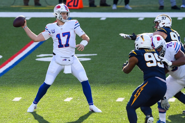 Pittsburgh Steelers at Buffalo Bills 12/13/20 NFL Picks and Predictions