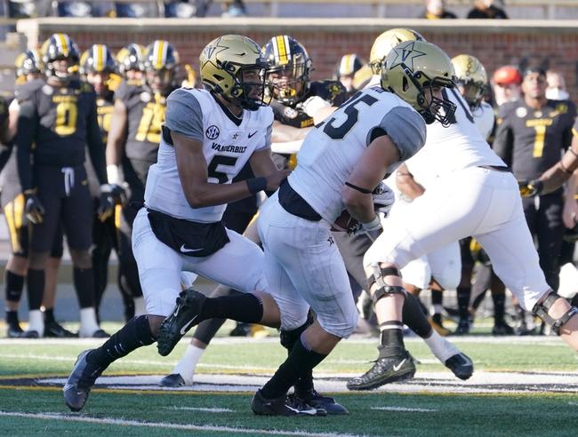 Tennessee at Vanderbilt 12/12/20 College Football Picks and Predictions