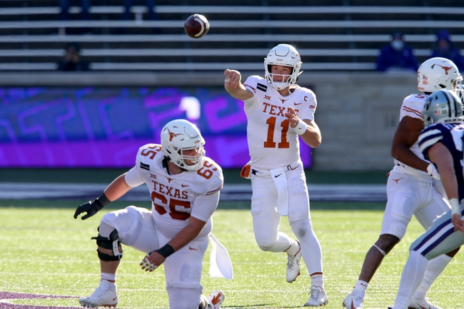 Canceled: Texas at Kansas 12/12/20 College Football Picks and Predictions