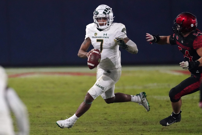 Utah State at Colorado State 12/12/20 College Football Picks and Predictions