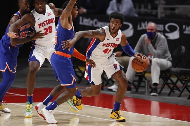 Detroit Pistons vs. New York Knicks NBA Picks, Odds, Predictions 12/13/20