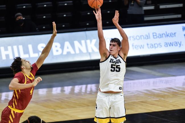 Iowa vs Northern Illinois College Basketball Picks, Odds, Predictions 12/13/20