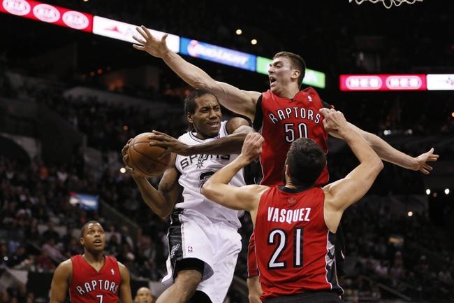 Raptors vs. Spurs - 2/8/15 NBA Pick, Odds, and Prediction