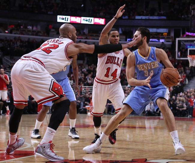 Nuggets vs. Bulls - 10/13/14 NBA Preseason Pick, Odds, Prediction: