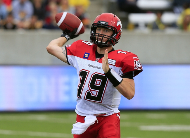 Montreal Alouettes vs. Calgary Stampeders CFL Pick, Odds, Prediction - 8/1/15