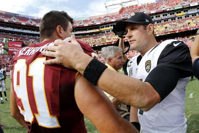 Redskins vs. Jaguars - 9/3/15 NFL Pick, Odds, and Prediction