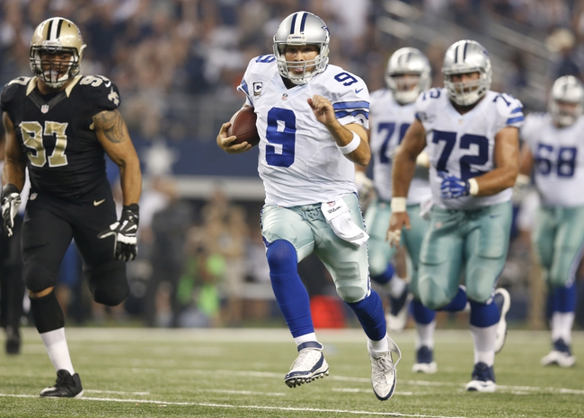 9/29/14 betting line on dallas and saints