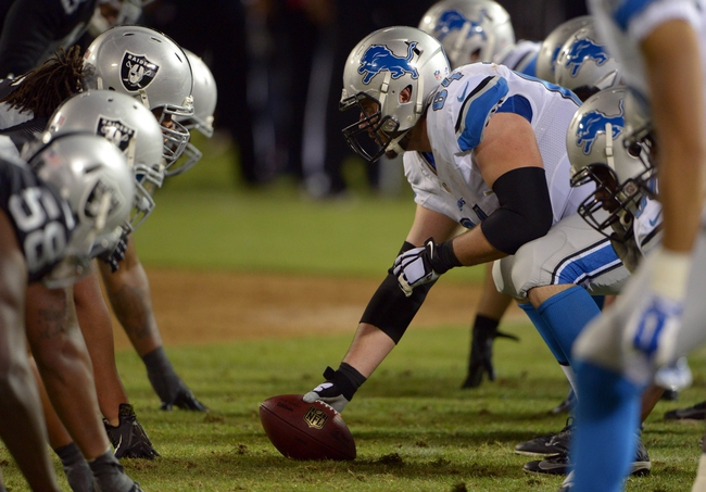 Detroit Lions vs. Oakland Raiders - 11/22/15 NFL Pick, Odds, and Prediction