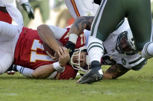 Kansas City Chiefs vs. New York Jets - 9/25/16 NFL Pick, Odds, and Prediction