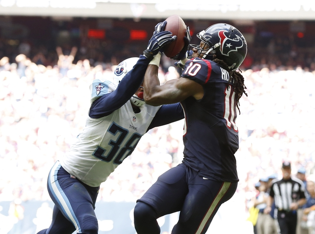 Houston Texans vs. Tennessee Titans - 11/1/15 NFL Pick, Odds, and Prediction
