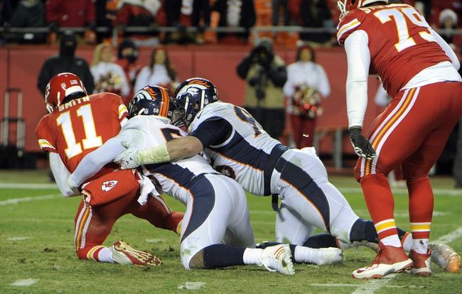 Denver Broncos at Kansas City Chiefs- 9/17/15 NFL Pick, Odds, and Prediction