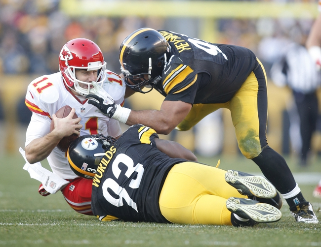 Kansas City Chiefs vs. Pittsburgh Steelers - 10/25/15 NFL Pick, Odds, and Prediction