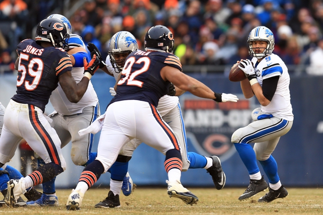 Detroit Lions vs. Chicago Bears - 10/18/15 NFL Pick, Odds, and Prediction