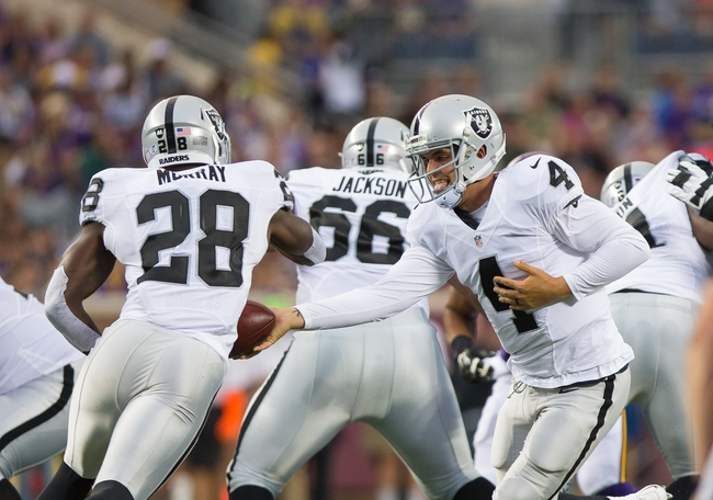 Cincinnati Bengals vs Oakland Raiders -  9/13/15 NFL Pick, Odds, and Prediction