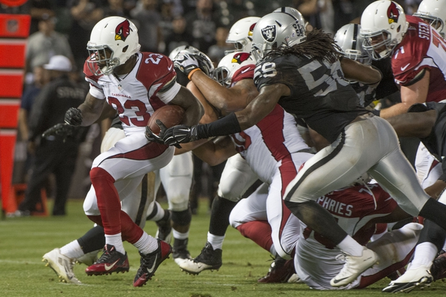 Oakland Raiders at Arizona Cardinals - 8/12/16 NFL Pick, Odds, and Prediction