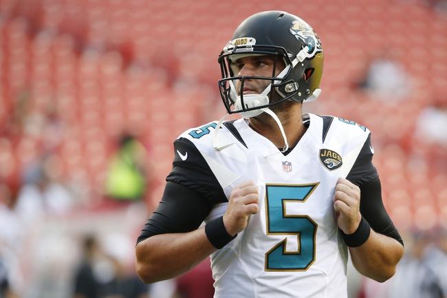 Jaguars vs. Panthers - 9/13/15 NFL Pick, Odds, and Prediction