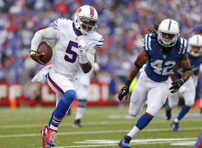 Indianapolis Colts at Buffalo Bills 9/13/15 NFL Score, Recap, News and Notes